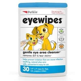 Petkin Eye Wipes (30ct)