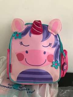 Stephen Joseph Mini Sidekick Backpack, Unicorn