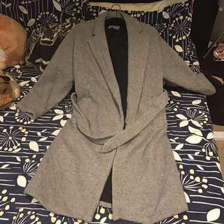 ZARA Oversized Grey Coat
