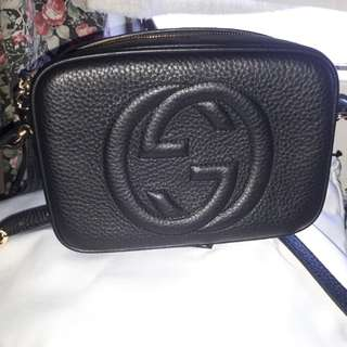 Gucci Soho Disco Bag Black
