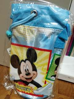 Brand new mickey mouse water bottle holder
