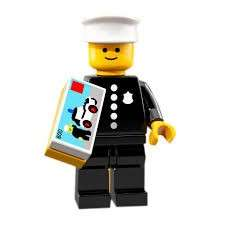 Lego Minifigures Series 18 71021 Police Officer