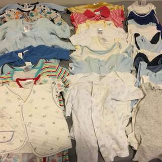 Bulk buy ALL IN ONE box Baby BOY clothes and accessories