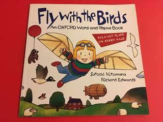 Fly with the birds fold-out books (an Oxford word & rhyme book)