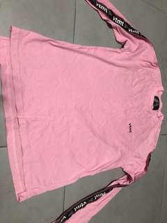 Vtmt pink long sleeve