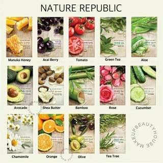 Nature Republic Real Nature Masksheet