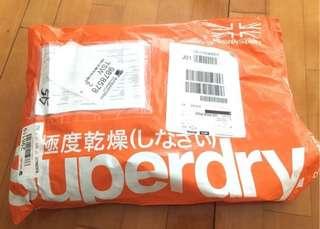 特價 全新 Superdry 女裝 L size 大碼衫 衛衣 超靚 美國網購 因唔岩著