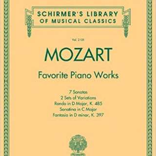 Mozart favourite piano works