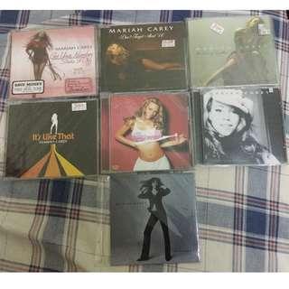 Mariah Carey single CD 7pcs