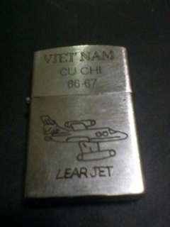 Vintage vietman war zippo 1966