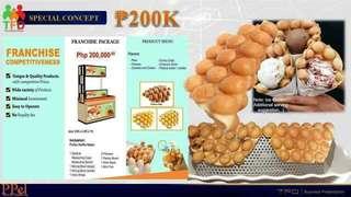 Puffys eggwaffle