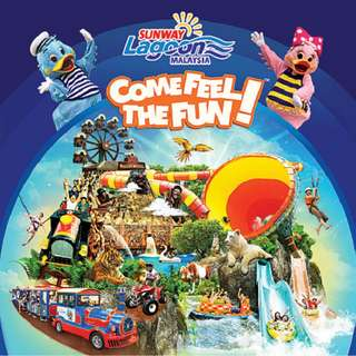 Sunway Lagoon Theme Park E-Ticket