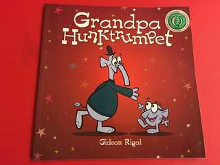 Grandpa Hunktrumpet (water/tear resistant papers)
