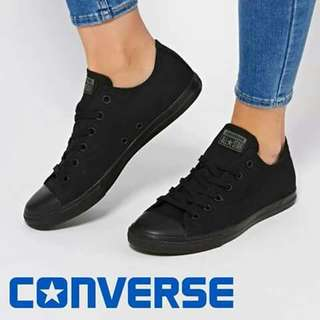 onhand all black shoe