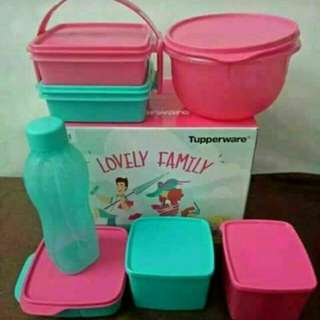 Tupperware Lovely Family