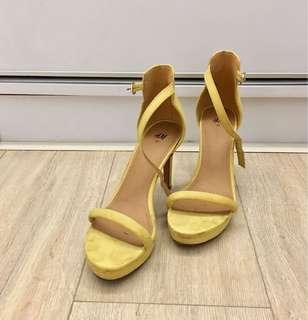 H&M Mustard heels