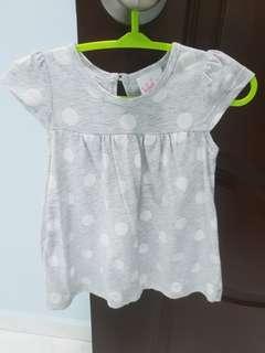 Baby dress- Grey