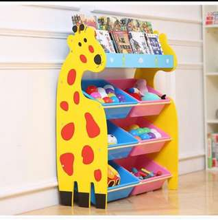 Cartoon giraffe children Toy Storage