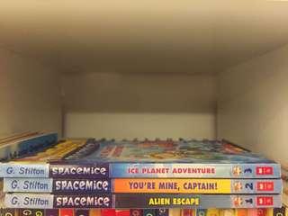 3pcs set Geronimo Stilton Spacemice