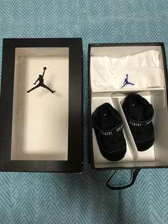 Jordan BB 鞋 帽 (Jordan 11 Retro Gift Pack)