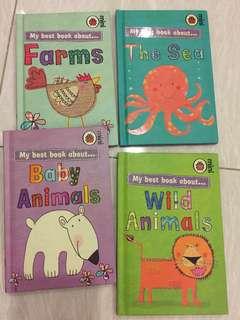 Ladybird mini 4 books - Animals