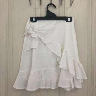 Sofi Mini Skirt White
