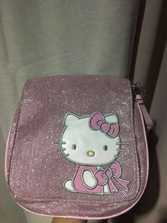 Hello Kitty Pink Glitter Bag