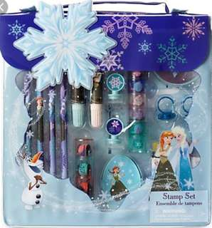 [Juniorcloset] 🆕 Disney Store Disney Frozen stamp Frozen stationery set
