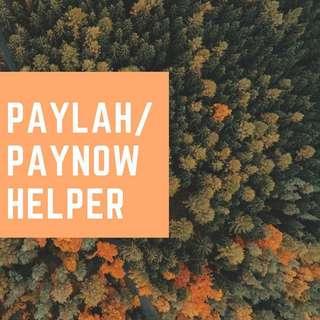 Paylah/Paynow Helper!