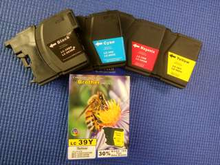 Pioneer tech Brother ink cartridge LC39 (4pcs per set)