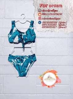 Two-piece padded bikini (bathing suit/swimwear)