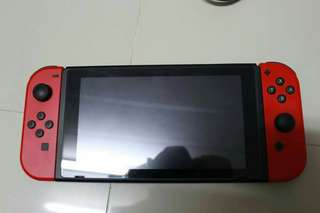 sale nintendo switch console red