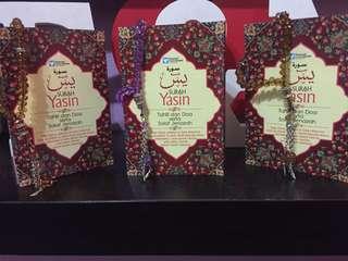 Door gift / Berkat - Buku Doa / Yassin