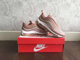 DISCOUNTED!! NIKE AIRMAX 97 ROSE GOLD