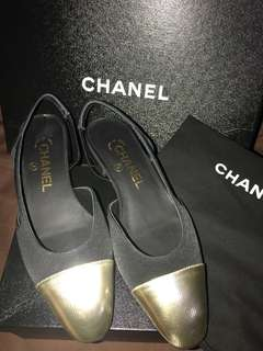 Chanel Two-Tone Sling