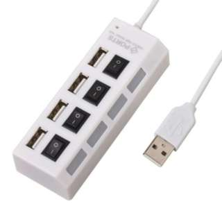 USB HUB 4 port saklar device alat penambah cable