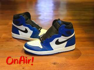 AJ1 RETRO HIGH OG  GAME ROYAL 555088-403
