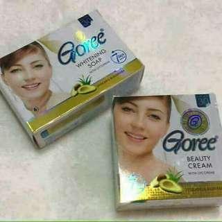 Goree cream and soap
