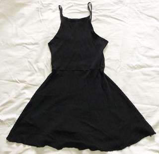 Black Halter dress (Small to Medium)