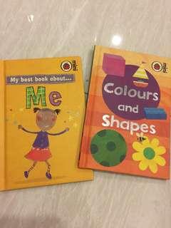 Ladybird mini 2 books - Me, Colours & Shapes