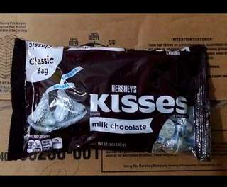 Kisses Plain 340g