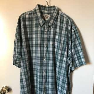 Vintage Retro Mens XL Ralph Lauren Short Sleeve Shirt