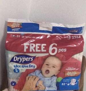 BN Drypers wee wee dry Size S