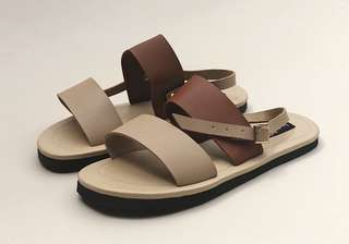 Janet Two Tone Sandals