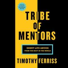 eBook - Tribe of Mentors by Tim Ferriss