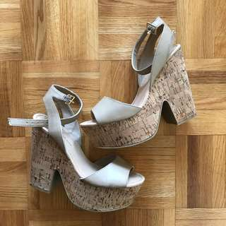 basic cork wedges 7.5