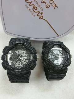 G Shock couple