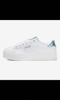 Fila Court Deluxe Shiny Blue and Pink