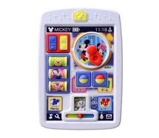 日本 TAKARA TOMY 迪士尼寶寶平板遊戲機
