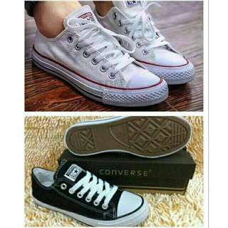 Shoes converse black and keds